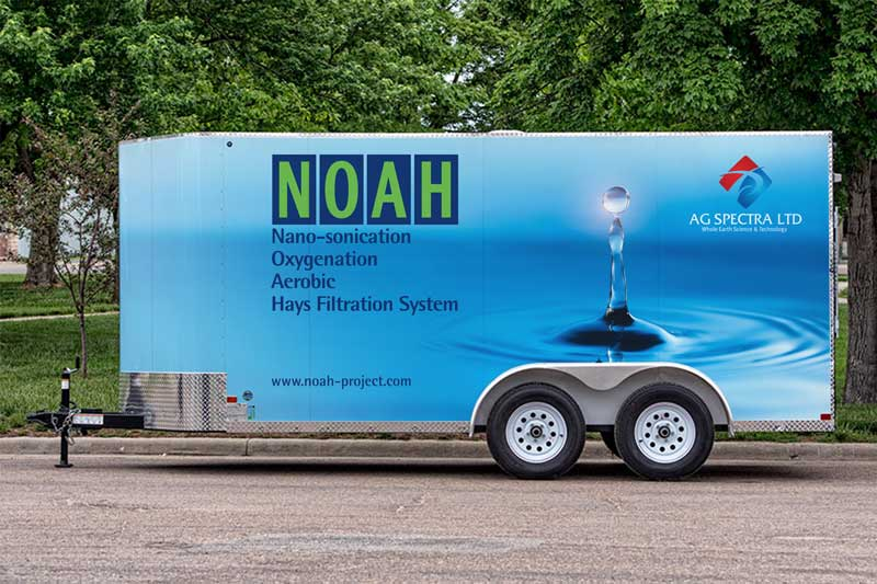 NOAH Alpha, portable water-treatment system
